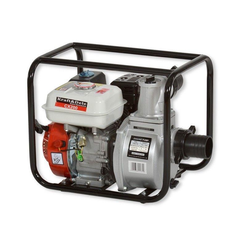 """Benzínové vodní čerpadlo 3"""", 4,8kW KD771 KRAFT&DELE"""