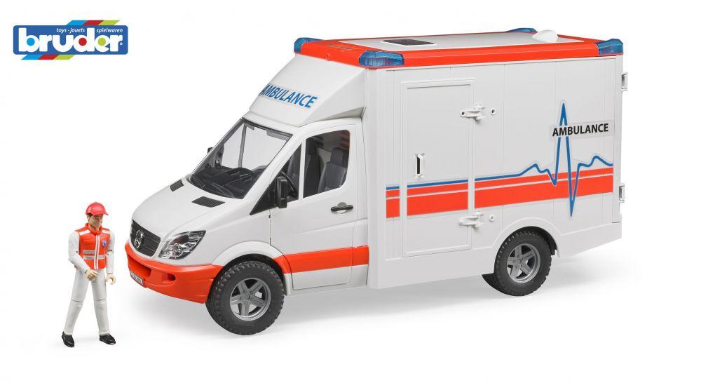 Bruder 2536 Mercedes Benz Sprinter Ambulance Nářadí-Sklad 1 | 0
