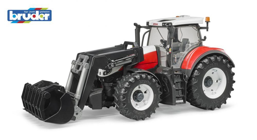 Bruder 3181 Traktor Steyr 6300 Terrus CVT s přední lžicí Nářadí-Sklad 1   0