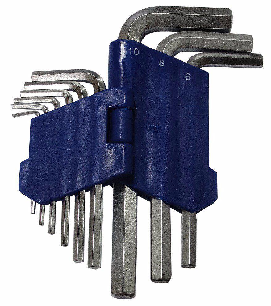 Imbusové klíče 9ks krátké MAR-POL
