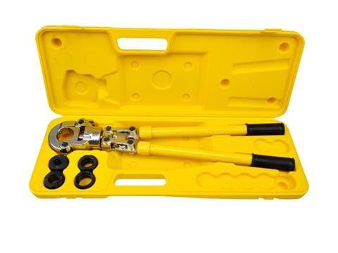 Kleště lisovací na trubky PEX-AL-PEX 16-32mm GEKO