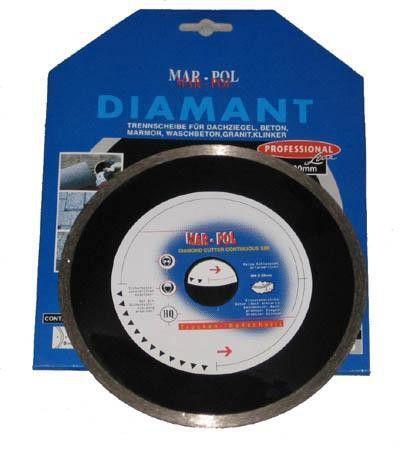 Kotouč řezný diamantový 125x22.2x8mm MAR-POL