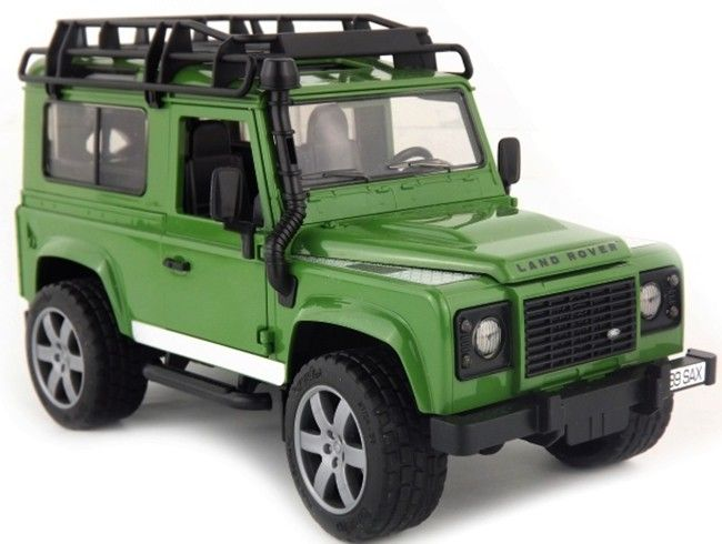 Land Rover Defender 02590 BRUDER Nářadí-Sklad 1 | 0