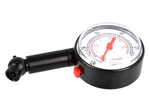 Manometr s ventilem 0-3,5bar GEKO