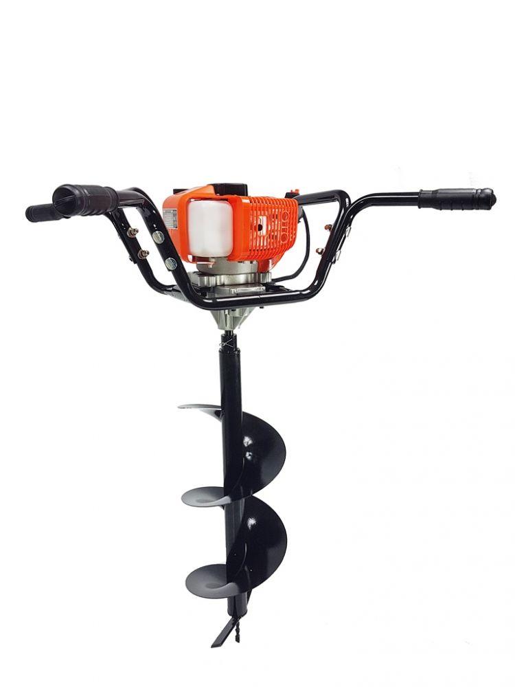 Motorový zemní vrták dvouosobový 3,8kW, 3 vrtáky MAR-POL