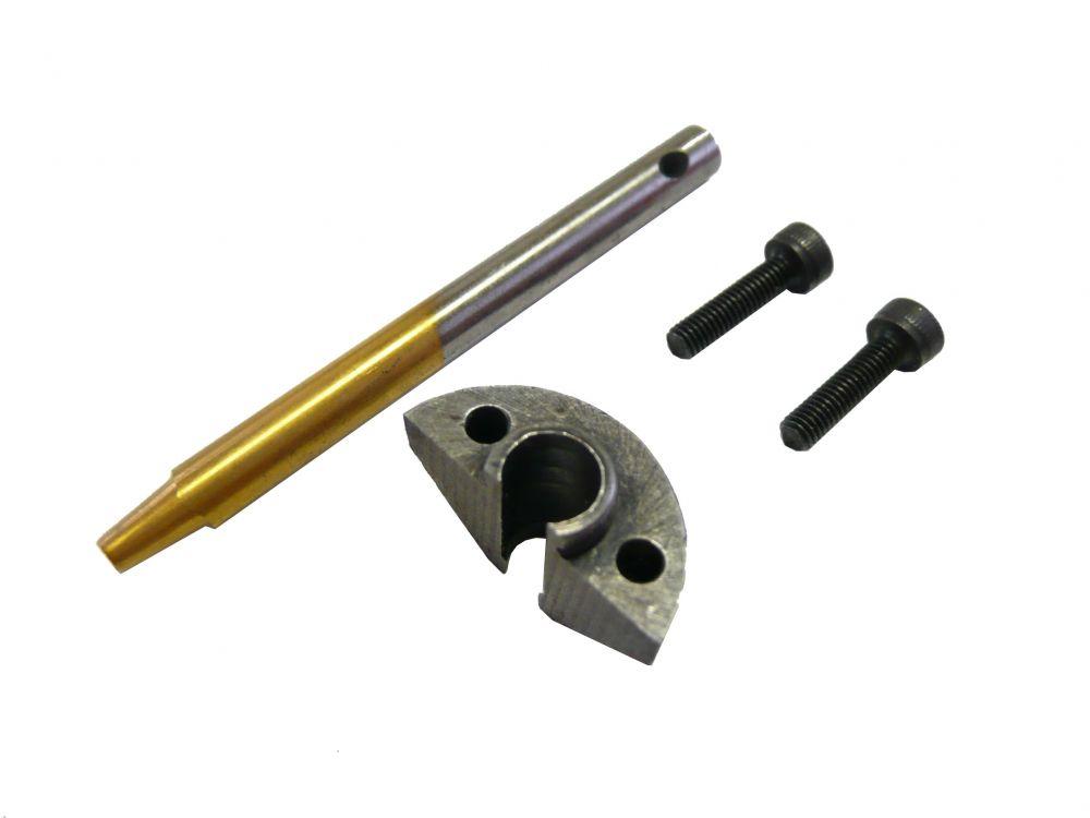 Náhradní matrice a razník pro elektrické nůžky / prostřihovač na plech GEKO