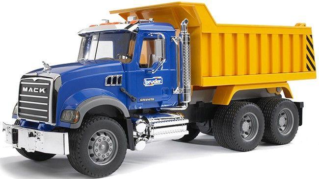 Nákladní auto, sklápěč MAC Granite  02815 BRUDER Nářadí-Sklad 1 | 0