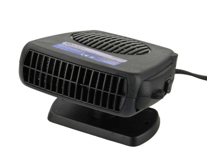 Topení do auta s ventilátorem 12V, 150W, GEKO