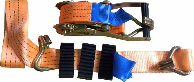 Pás upínací ráčnový s háky, 3m x 50mm, 4t GEKO