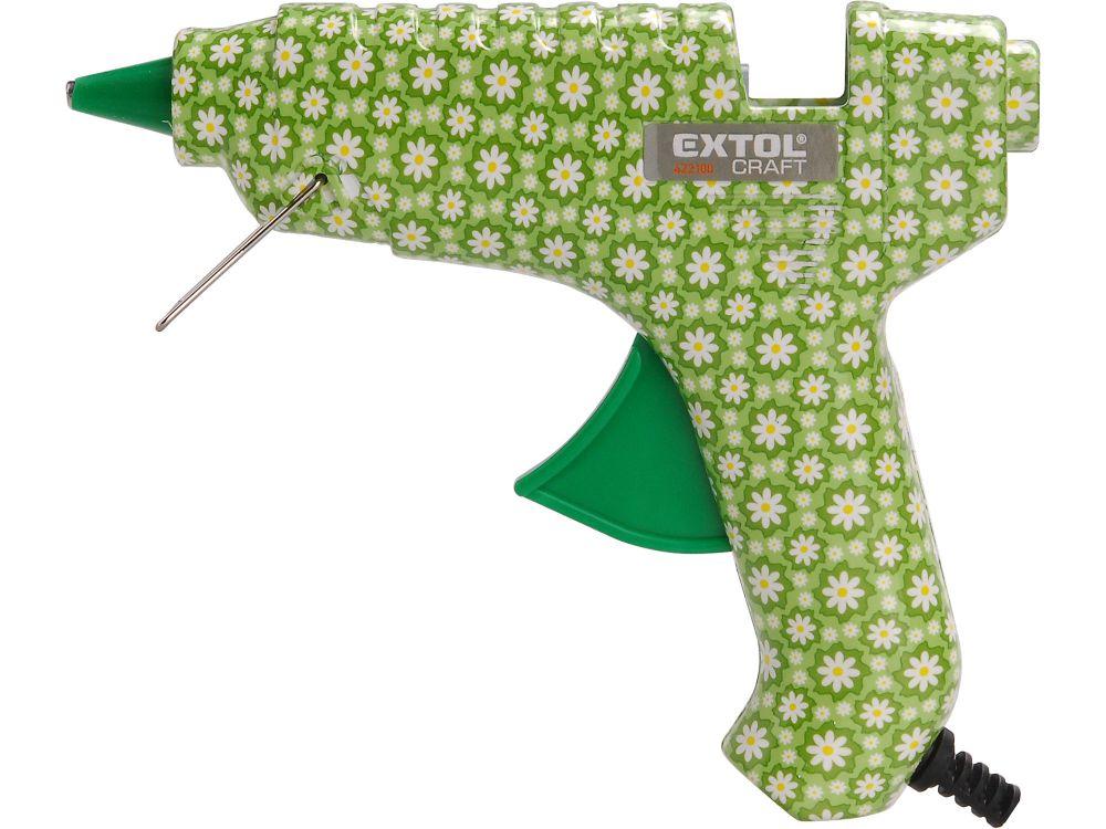 Pistole tavná lepící, květinová, 40W, 11mm, EXTOL CRAFT Nářadí-Sklad 1 | 0.333