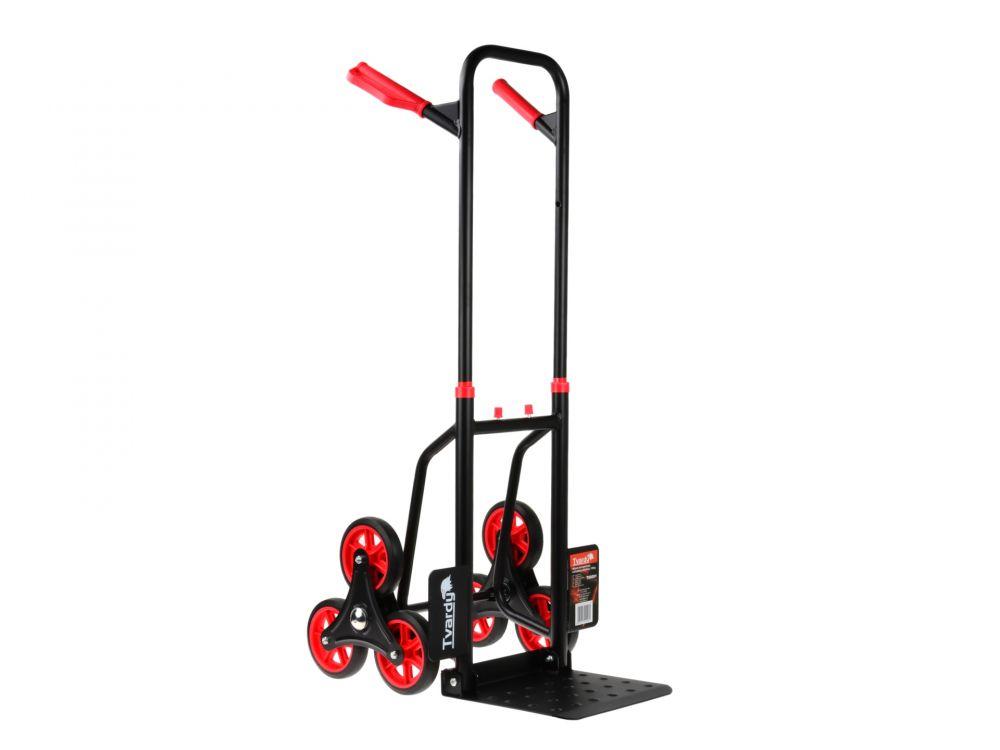 Přepravní vozík skládací, schodišťový - rudl 150kg TVARDY