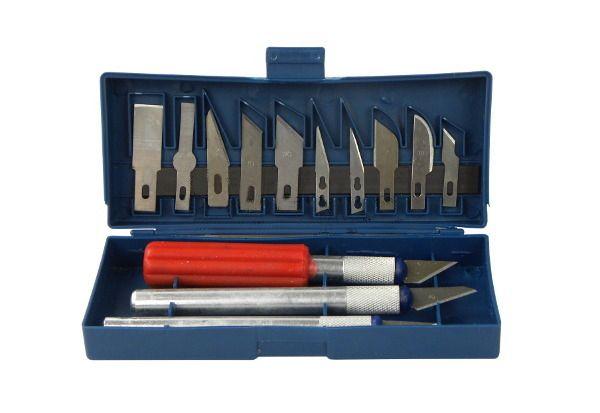 Sada 13ks modelovacích nožů a skalpelů GEKO