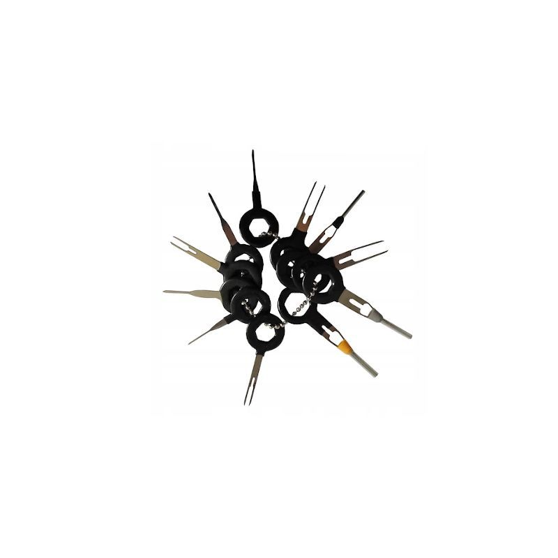 Speciální klíče pro vypichování konektorů, sada 11ks KRAFT&DELE