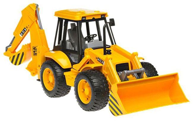 Traktor JCB 4CX s předním nakladačem a zadním bagrem 02428 BRUDER Nářadí-Sklad 1 | 0