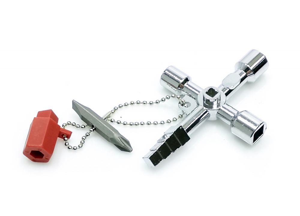 Univerzální klíč na rozvodné skříně, rozvaděče MAR-POL