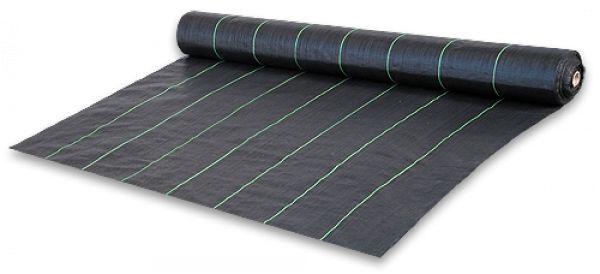 Agrotextílie 70g/m² černá proti plevelu, 100x0,6m *HOBY 4Kg BR-AT7006100