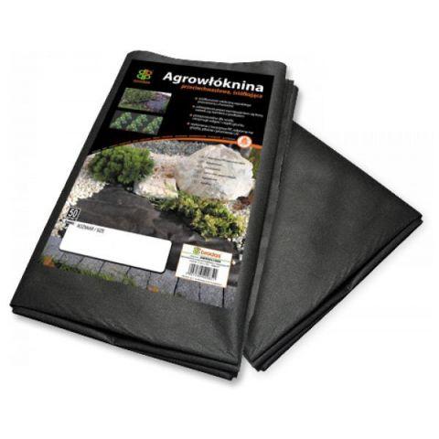 Agrovláknina 50g/m² černá proti plevelu, 5x1,6m