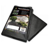 Agrovláknina 50g/m² černá proti plevelu, 5x3,2m