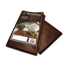 Agrovláknina 50g/m² hnědá proti plevelu, 5x1m