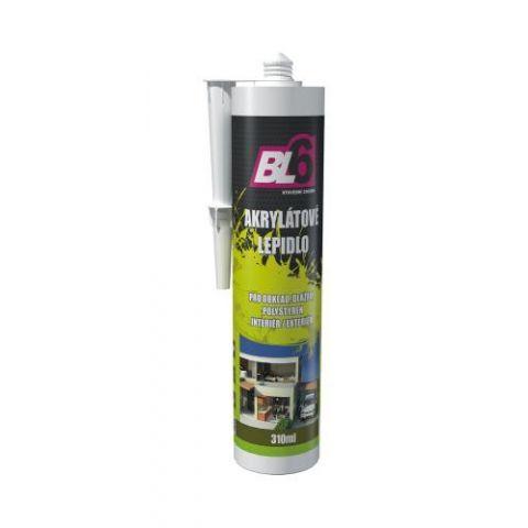 Akrylátové lepidlo BL6 hobby bílé - kartuše 310ml