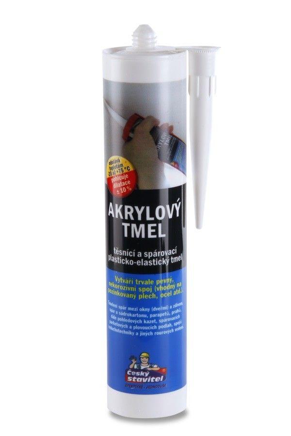 Akrylový tmel bílý 310ml ČS