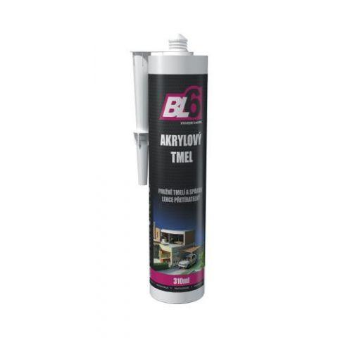 Akrylový tmel BL6 bílý - kartuše 310ml