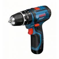 Aku kombinovaný šroubovák Bosch GSB 10,8-2-LI, 2x akumulátor, rychlonabíječka, 06019B6906