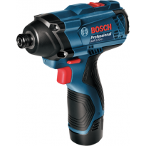 Aku rázový utahovák Bosch GDR 120-LI Professional (2x 1,5 Ah, kufr), 06019F0001