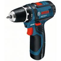 Aku šroubovák GSR 10,8-2-LI - 2 baterie, kufr, 0601868109 Bosch