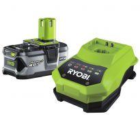 Akumulátor RYOBI RBC18L40 18 V 4,0 Ah + nabíječka ONE+