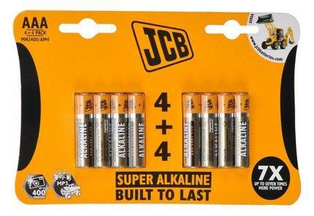 Alkalická baterie LR03/AAA, blistr 8 ks