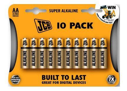 Alkalická baterie LR06/AA, blistr 10 ks