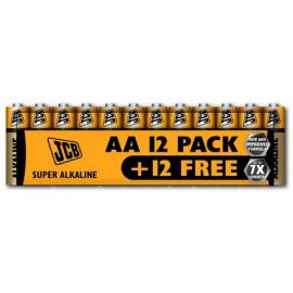 Alkalická baterie LR06/AA, shrink 24 ks