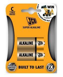 Alkalická baterie R14/C, blistr 2 ks