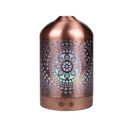 Aroma difuzér ORIENT, osvěžovač a zvlhčovač vzduchu, kovový povrch NATURE7