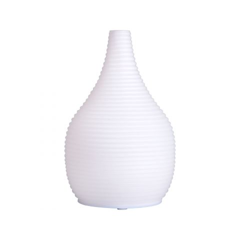 Aroma difuzér SNOWY - SNĚŽNÝ, osvěžovač a zvlhčovač vzduchu, mléčné sklo, USB NATURE7