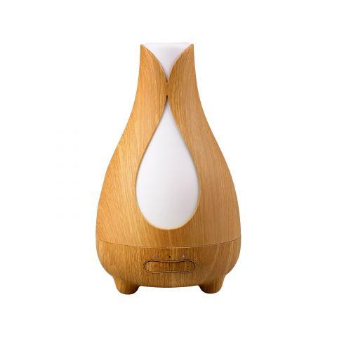 Aroma difuzér TULIP, osvěžovač a zvlhčovač vzduchu, imitace světlého dřeva NATURE7
