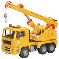 Autojeřáb MAN TGA, stavební jeřáb 02754 BRUDER
