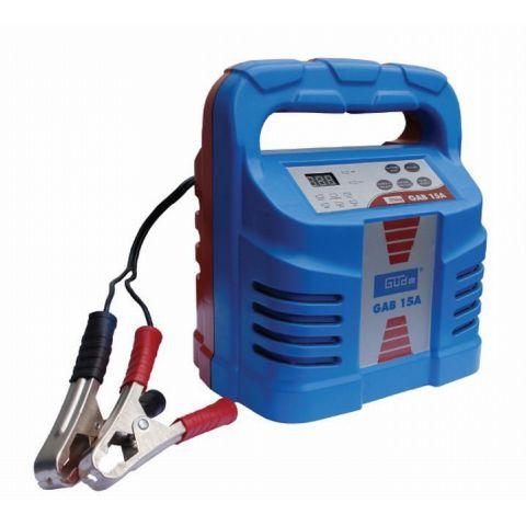 Automatická nabíječka baterií GAB 15A GÜDE (85063)