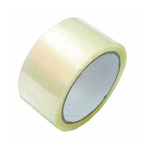 Balící PP páska 25mm/66m TRANSPARENT 108220