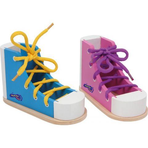Barevné boty na provlékání  LEGLER