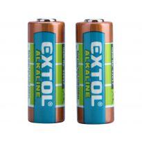 Baterie alkalické, 2ks, 12V (23A) EXTOL ENERGY