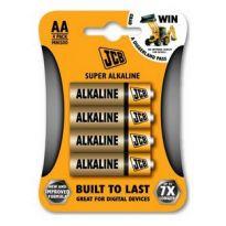Baterie JCB alkalická LR06/AA, blistr 4ks