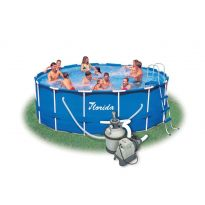Bazén Marimex Florida 4,57x1,22 m + PF Sand 4 set