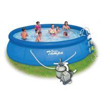 Bazén Marimex Tampa 4,57x1,22 m + písková filtr. Sand 4 SET