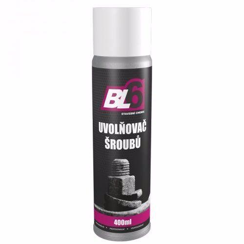 BL6 Uvolňovač šroubů 400ml sprej *HOBY 0Kg BL010802-400SP
