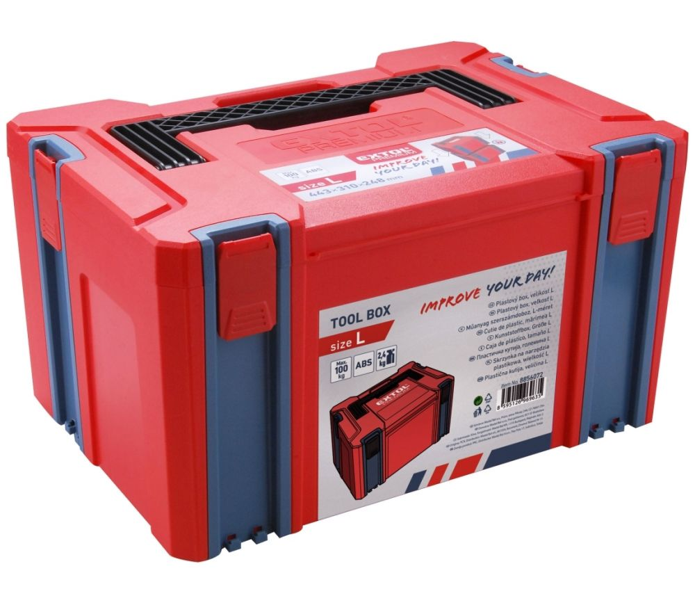 Box plastový, L velikost, EXTOL PREMIUM Nářadí-Sklad 1 | 2.4
