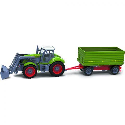 BRC 28.610 RC Traktor + př. BUDDY TOYS