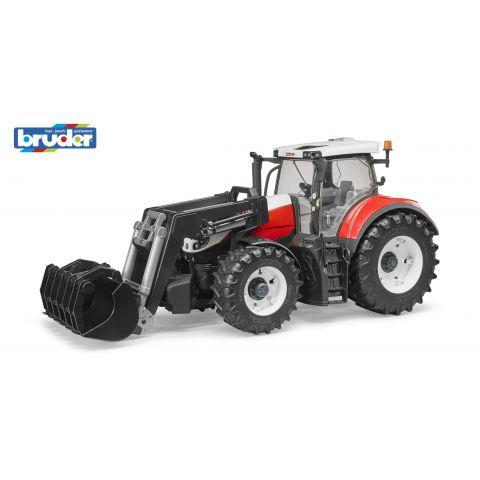 Bruder 3181 Traktor Steyr 6300 Terrus CVT s přední lžicí