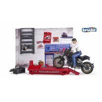 Bruder 62101 Motocyklový servis